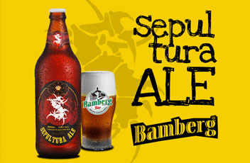 BANDA IMPERDÍVEIS - Cerveja Sepultura Ale Rotulo